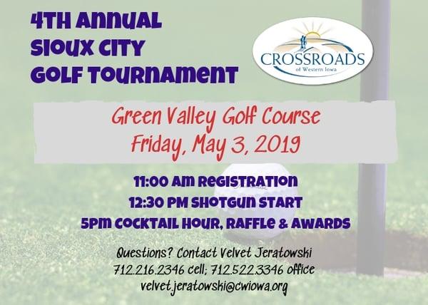 4th Annual Sioux City Golf
